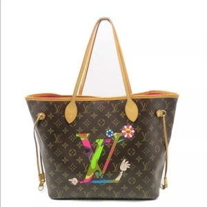 Louis Vuitton Neverfull Takashi Murakami Rare Bag